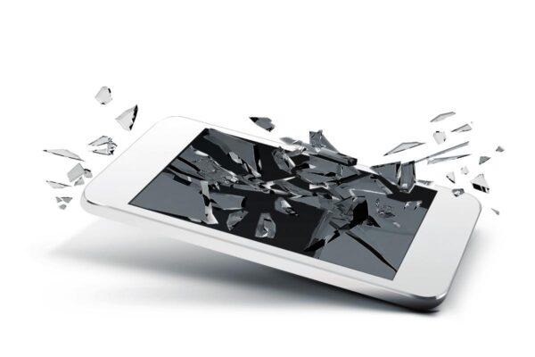 Rotura o fallo de pantalla Android 1