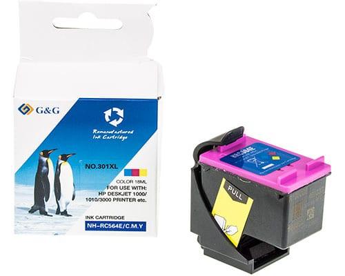 Cartucho HP 301XL color de alta capacidad 1