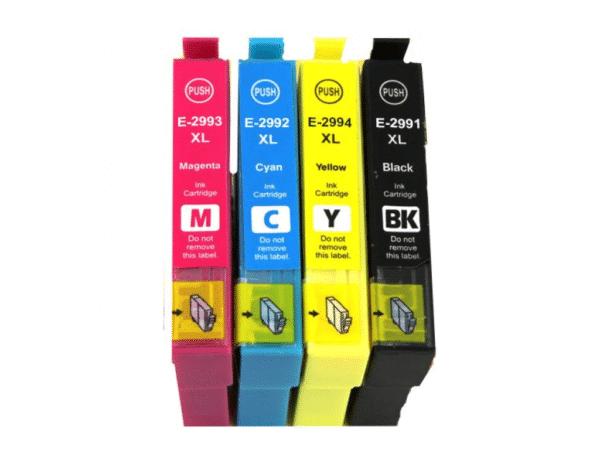 Cartucho EPSON T-2991, T-2992, T-2993, T-2994 1