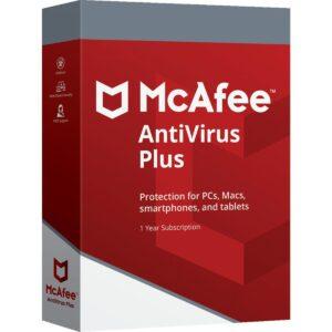 Mcafee Antivirus 2020 (1 dispositivo - 1 año)