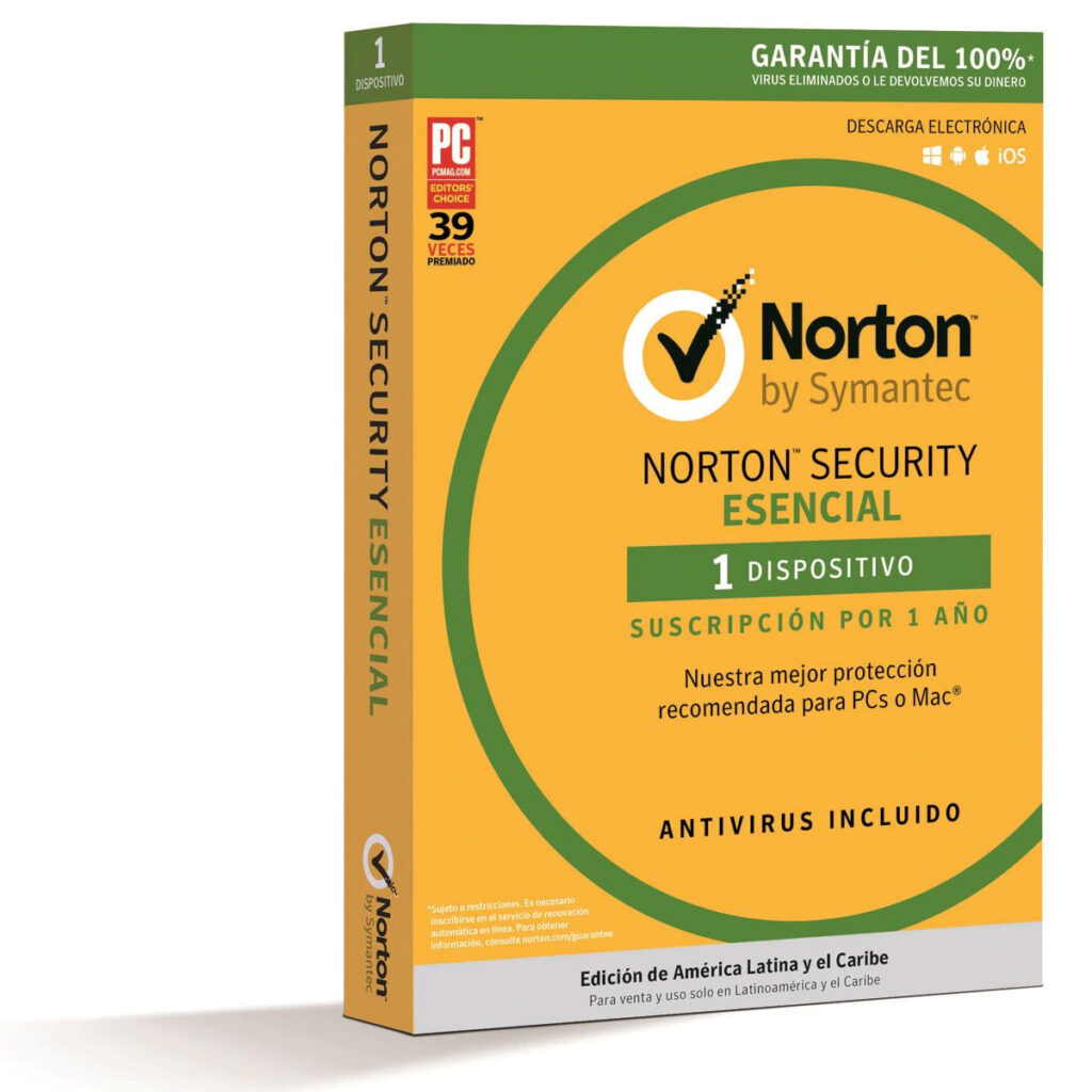 Norton Antivirus Basic (1 dispositivo – 1 año)