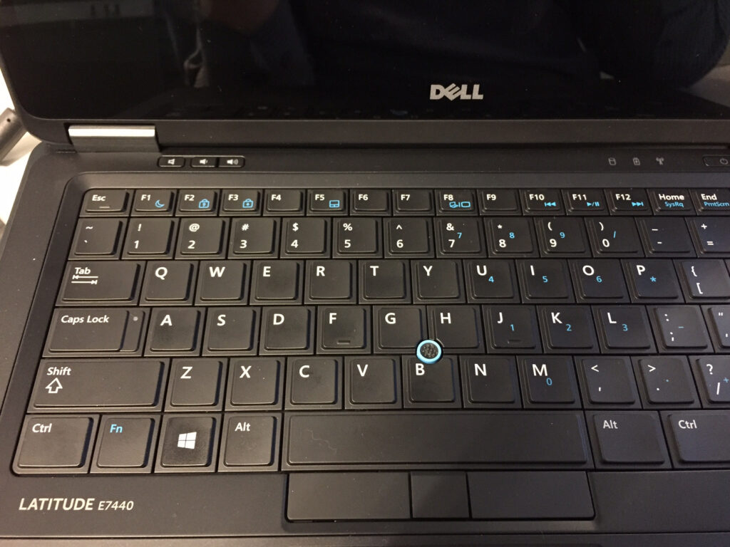 teclado portatil dell
