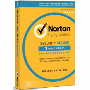 Norton Security Deluxe (3 dispositivo - 1 año) - Pcnouordenadores