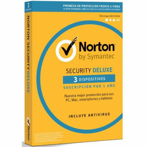 Norton Security Deluxe (3 dispositivo – 1 año)