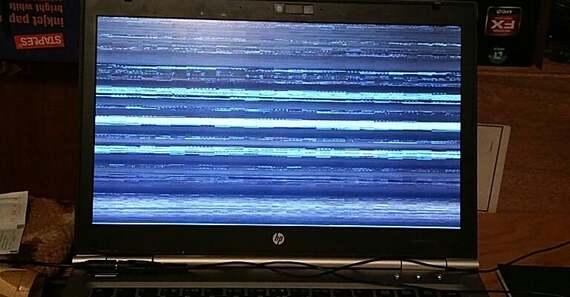 Fallos en la pantalla Portátil - Pcnouordenadores