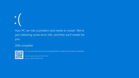 Problema Pantalla Azul Windows 10 Pcnouordenadores